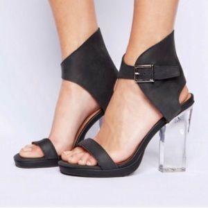 Jeffrey Campbell Shindig Acrylic Heels